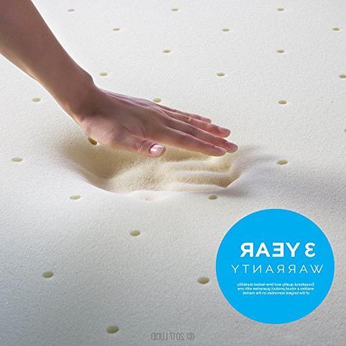 LUCID Memory Foam 3-Year Warranty