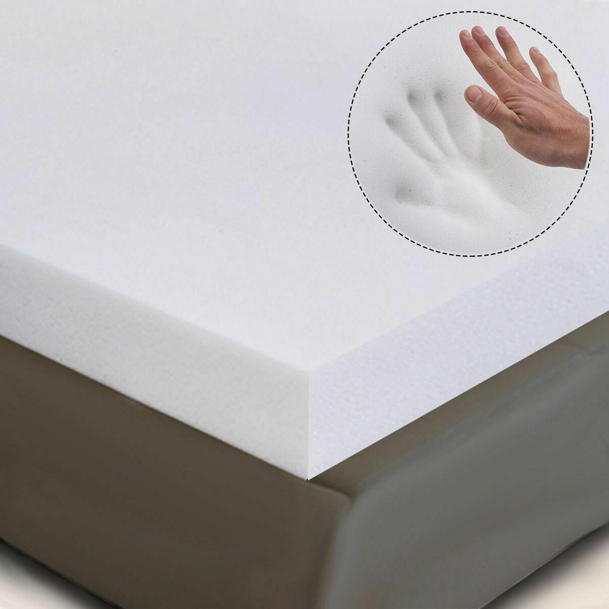 3 queen size memory bed topper 80