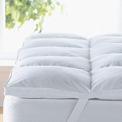 """Home Sweet Thick Hypoallergenic Bed Mattress Topper, Queen, 2"""""""