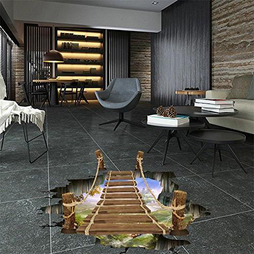 Simayixx 3D Floor Wall Decals Room
