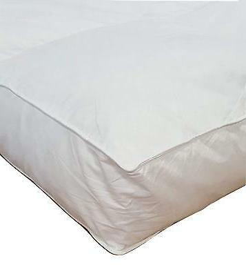 5 twin goose down mattress topper featherbed