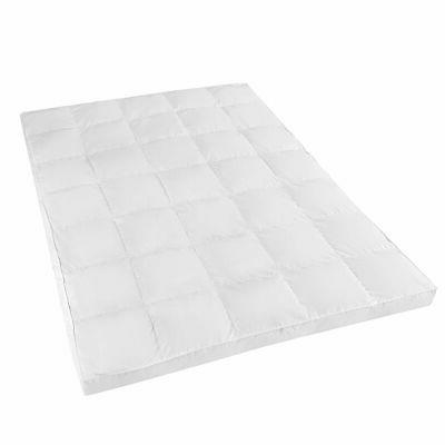 """4"""" Bedroom Hypoallergenic Mattress Topper Microfiber House U"""
