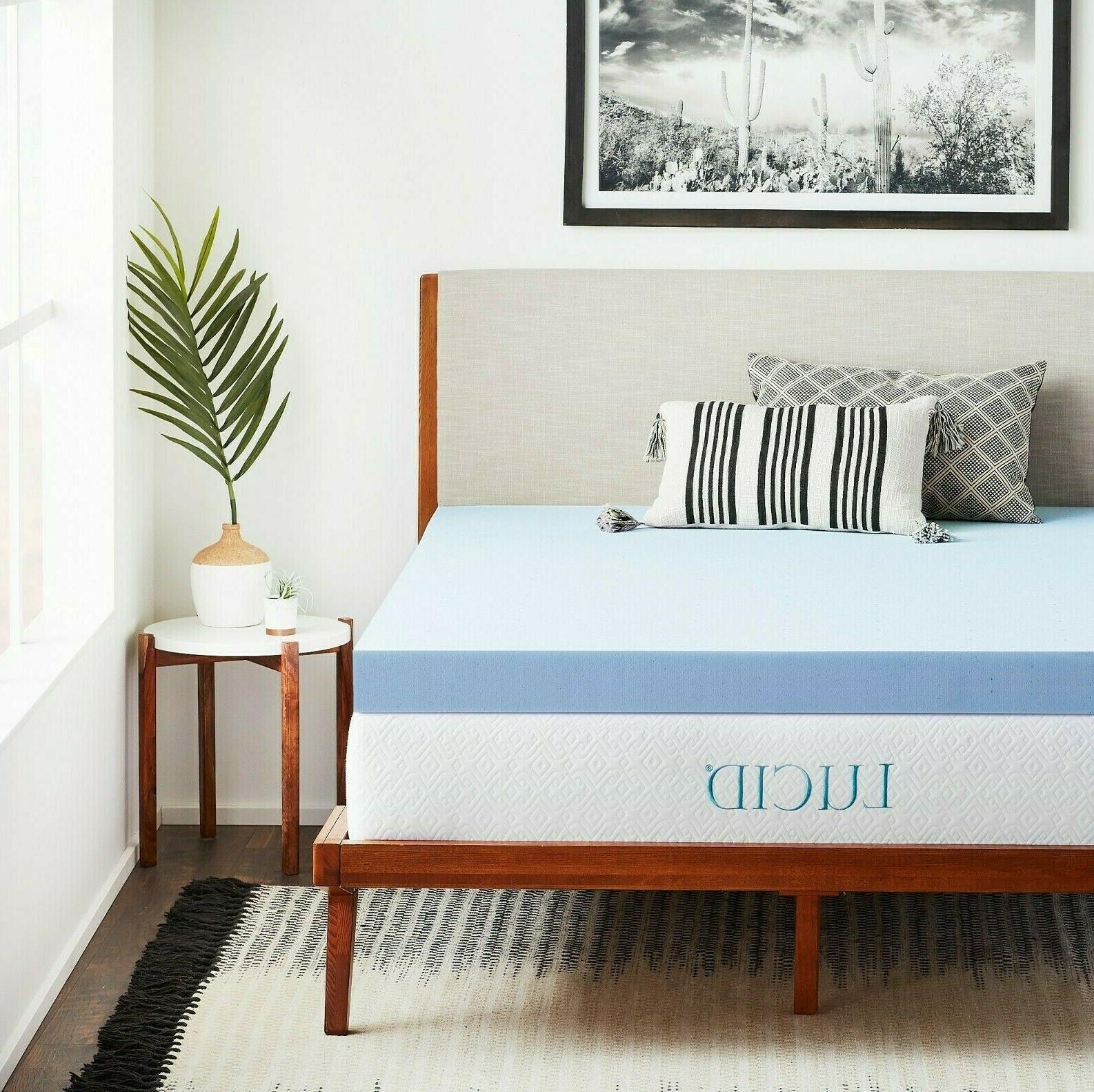 4 inch cooling gel memory foam mattress