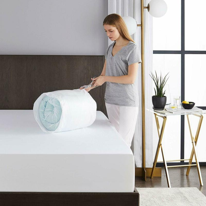 Sleep Innovations Layer Memory Mattress Topper with