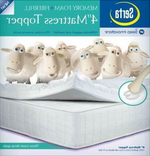 Serta 4-Inch Mattress FREE