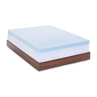 4 inch gel memory foam mattress topper