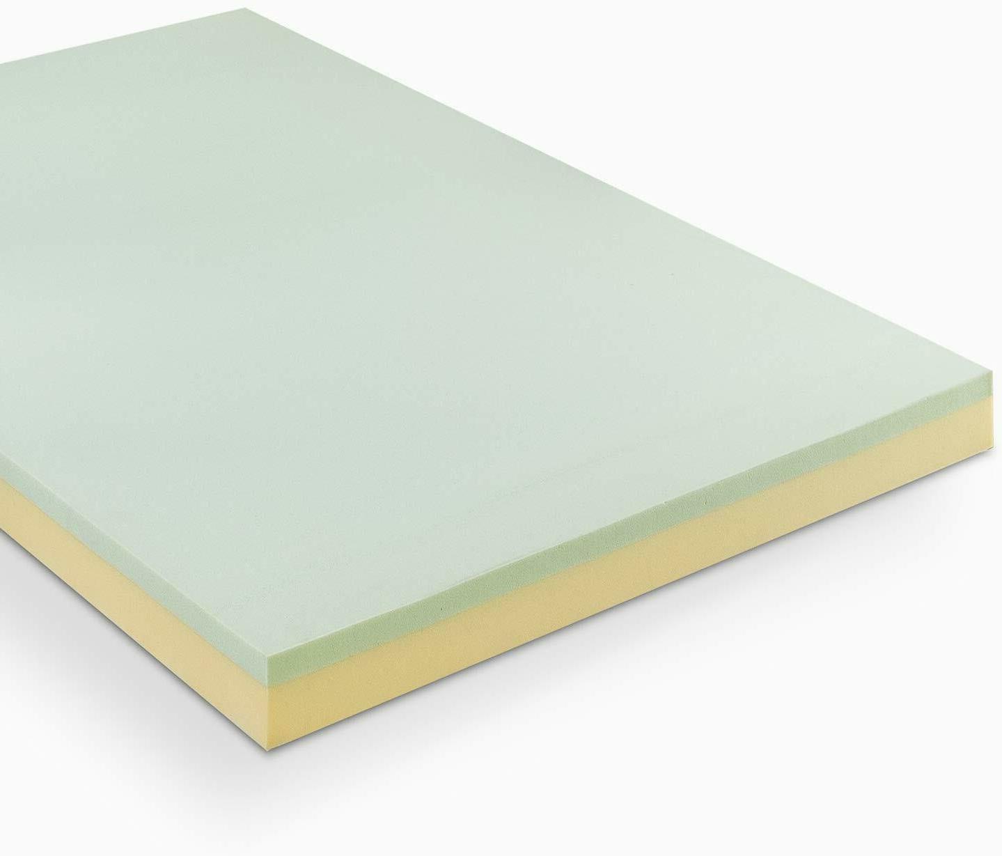 4 inch green tea memory foam mattress