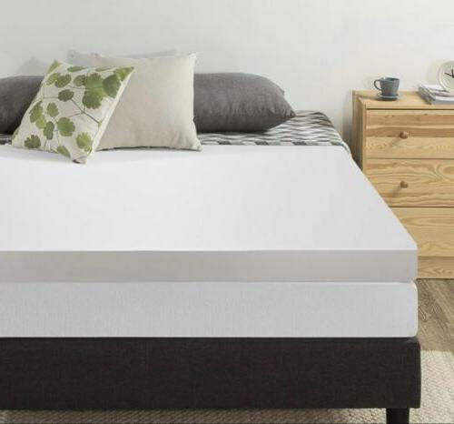 4 memory foam mattress topper queen