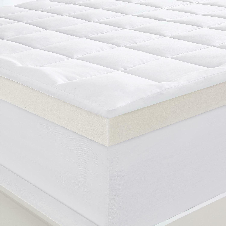 Serta Memory Foam Mattress Topper Twin, more