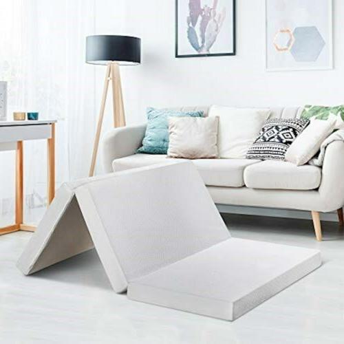 4 x small trifold mattress topper certipur