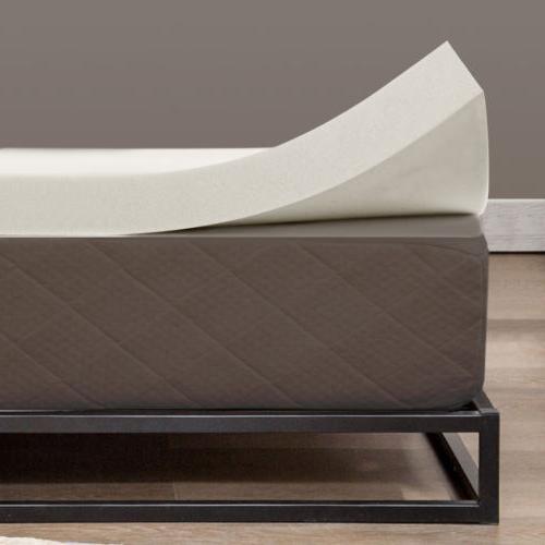 5.5 Comfort 3'' /4'' Twin,Full, Memory Foam