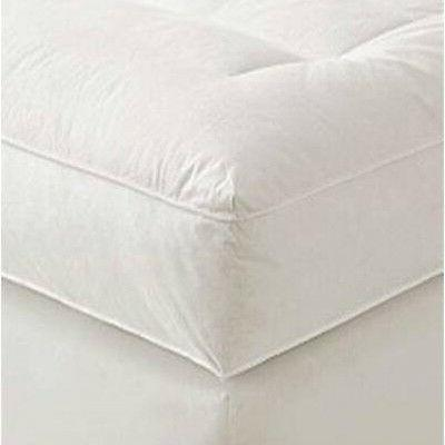 """5"""" Twin Mattress Featherbed Feather Baffled"""