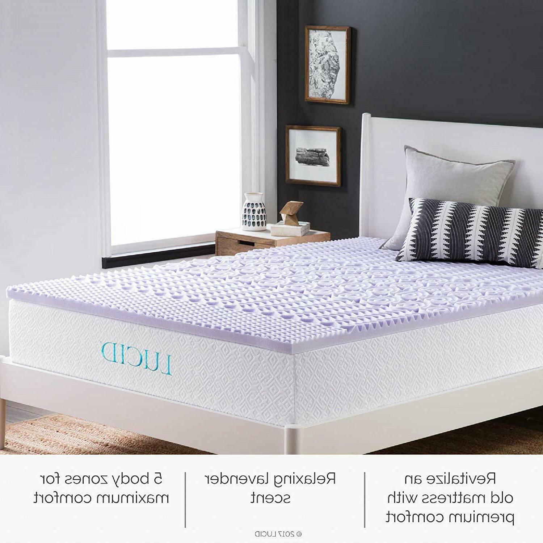 5 memory foam mattress topper