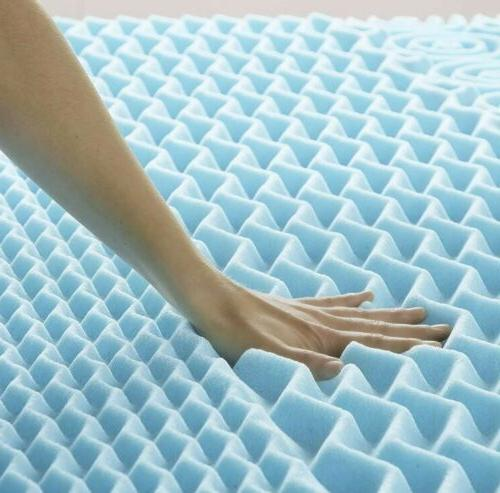 5 zone gel memory foam
