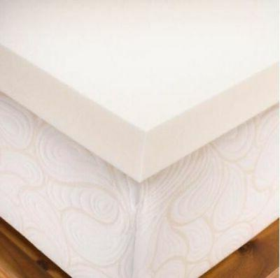 """Authentic Comfort 4"""" Memory Foam Mattress Topper with Biofre"""