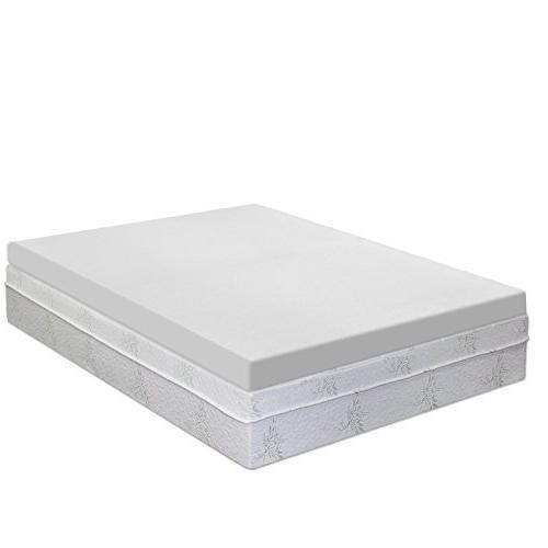 Best Price Mattress 4-inch Premium Memory Foam Mattress Topp