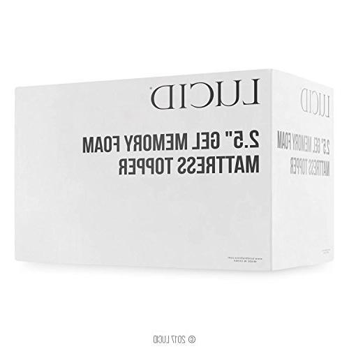 2.5 Ventilated Gel Foam LUCID