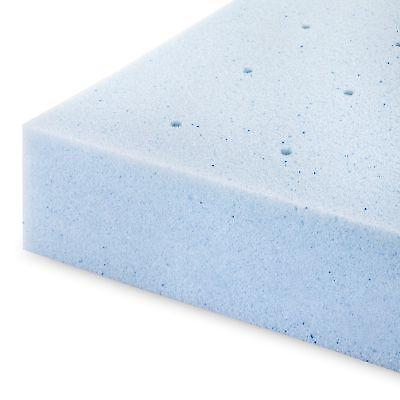 Lucid Queen Foam Mattress Inch Gel Topper Orthopedic Plush