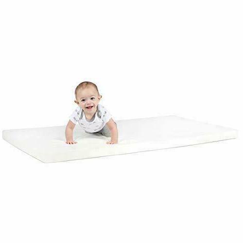 Milliard 2-Inch Ventilated Memory Foam Crib/Toddler Bed Matt