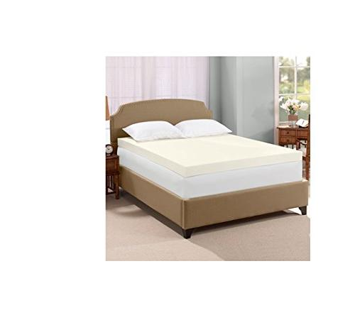 Serta Ultimate 4-inch Visco Memory Foam Mattress Topper - Qu