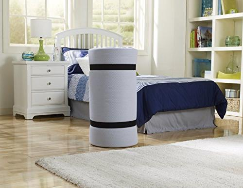 Simmons Foam Mattress: Roll-Up Bed/Floor