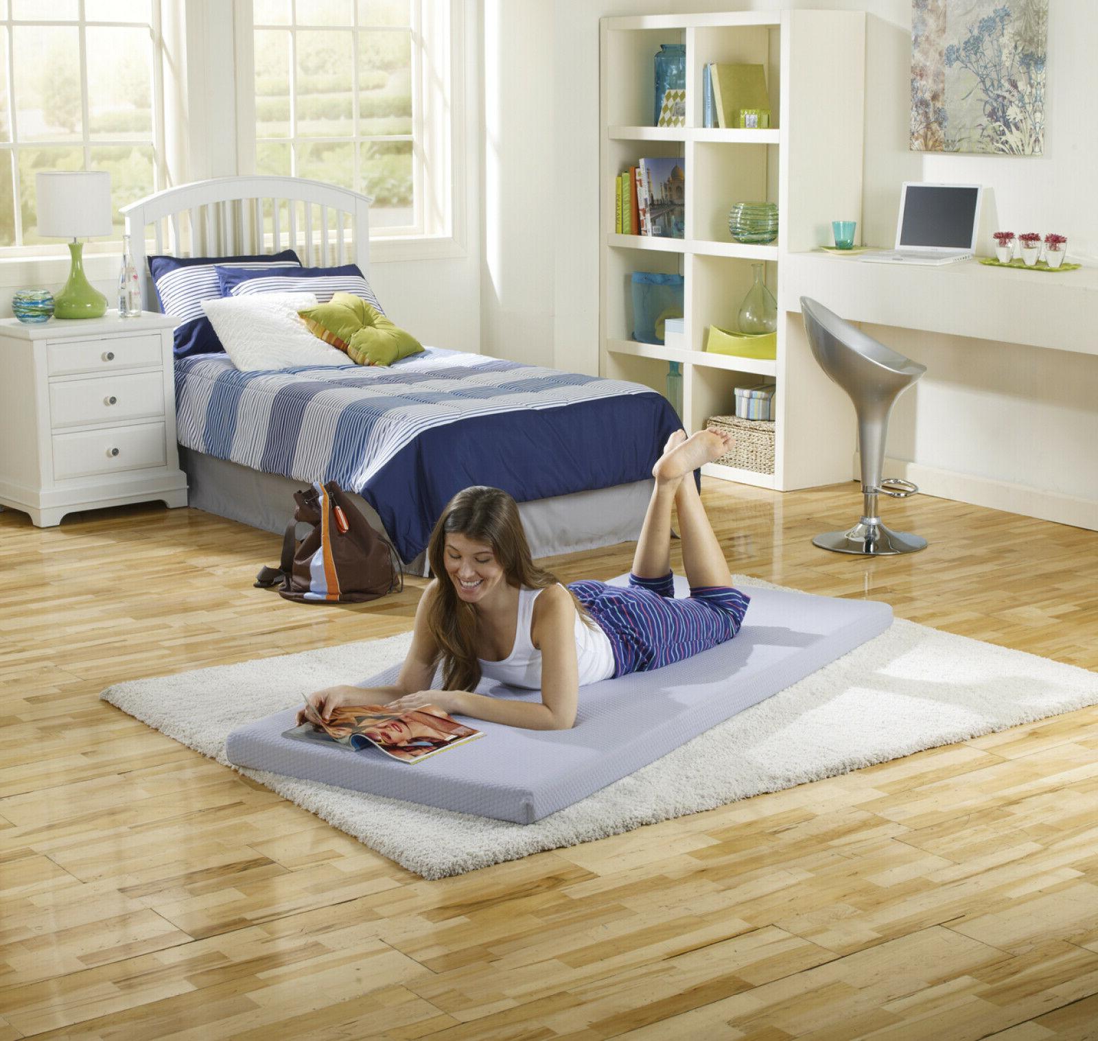 Simmons BeautySleep Siesta Memory Foam Mattress: Roll-Up Gue