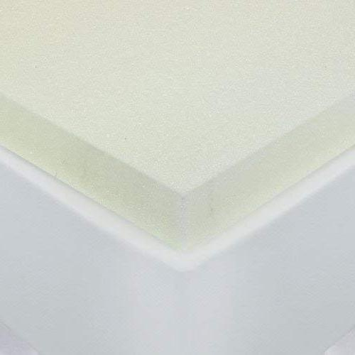 Sleep Innovations F-TOP-10985-TX-WHT 2-inch Memory Foam Mattress Made in with XL