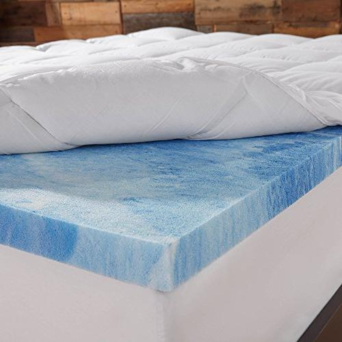 Sleep Innovations Foam 4-inch Layer Mattress Made in the with 10-Year - Size
