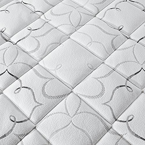 Sleep Innovations Top Fiber Topper, Made in a Warranty - King Size