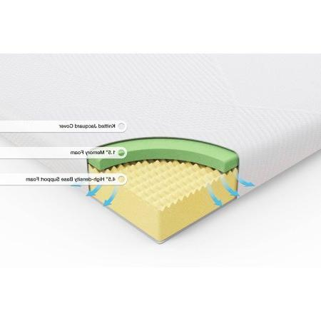 Spa Sensations 6'' Memory Foam Size: Twin