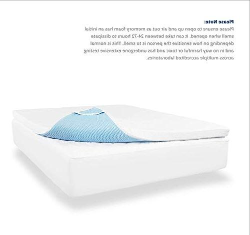 ViscoSoft Gel Memory Topper - Queen Pad with
