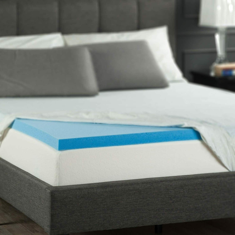 Zinus Sleep Memory Foam 2 Topper, King