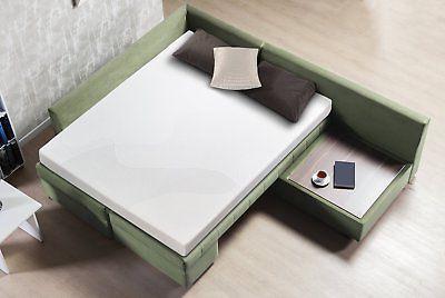 zinus cool gel memory foam 5 inch sleeper. Black Bedroom Furniture Sets. Home Design Ideas