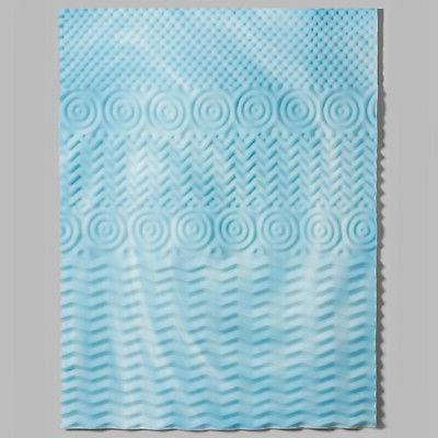 "4"" Orthopedic Foam Mattress Soft Pad Queen King"