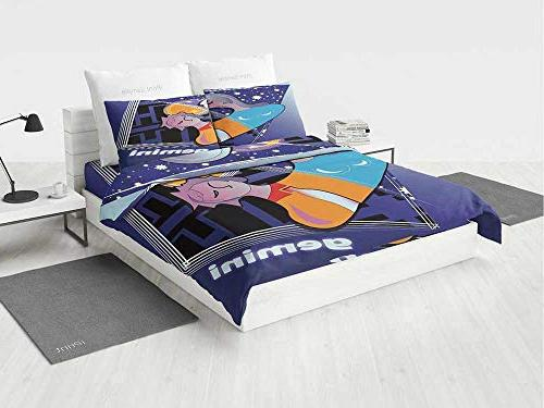 astrology baby crib bedding set