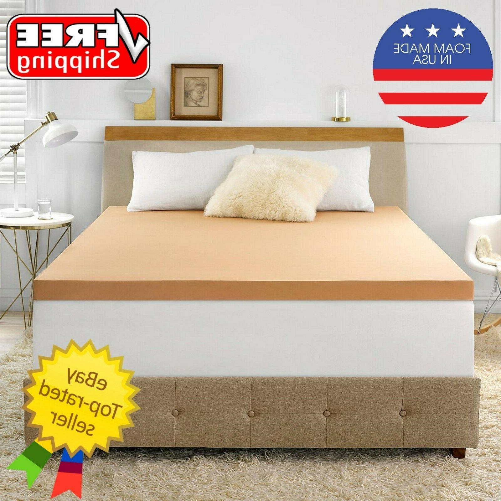 back support 3 advanced foam mattress topper
