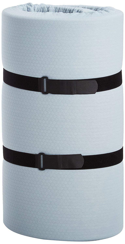 Simmons BeautySleep Siesta Foam Roll-Up Bed/Floor Mat,