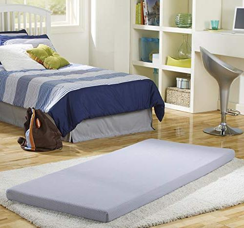 beautysleep siesta memory foam mattress roll up