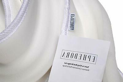 EPHEDORA Bed Bridge - Mattress Set to Fill i