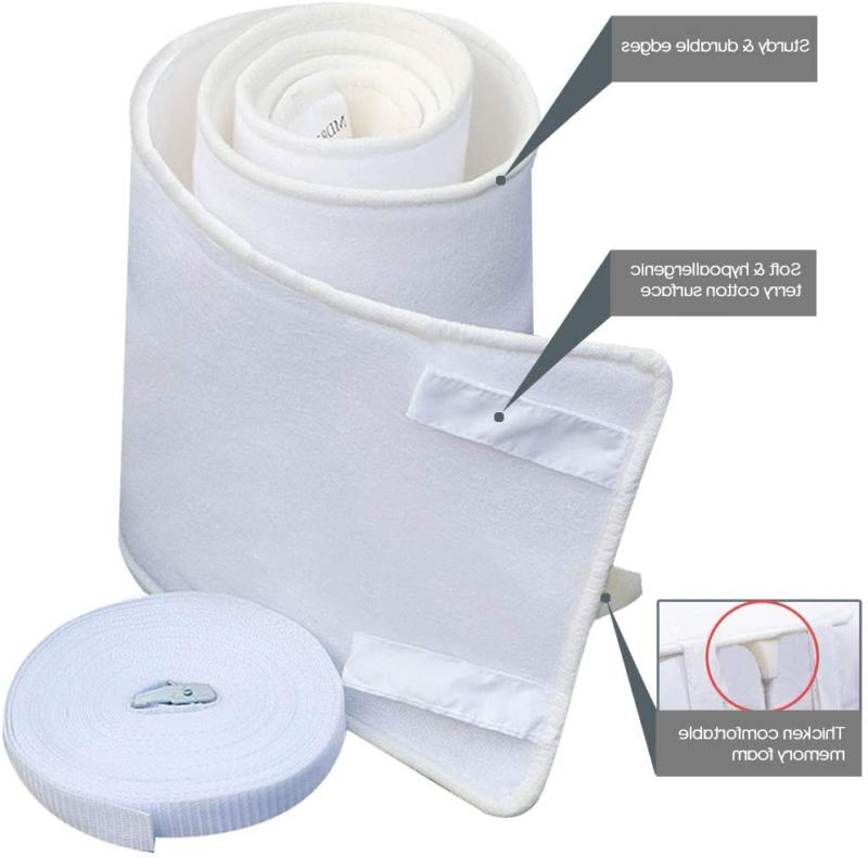 Bed Bridge Twin to King Converter Kit with Bed Sheet Fastene