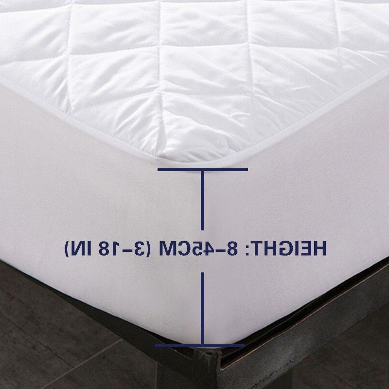 Bed Quilted <font><b>Mattress</b></font> Anti-mite Cover rete letto