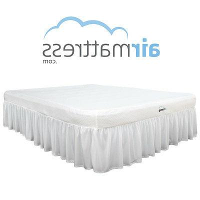*BEST CHOICE* Raised Air Mattress Bed Skirt and Air Bed Pump