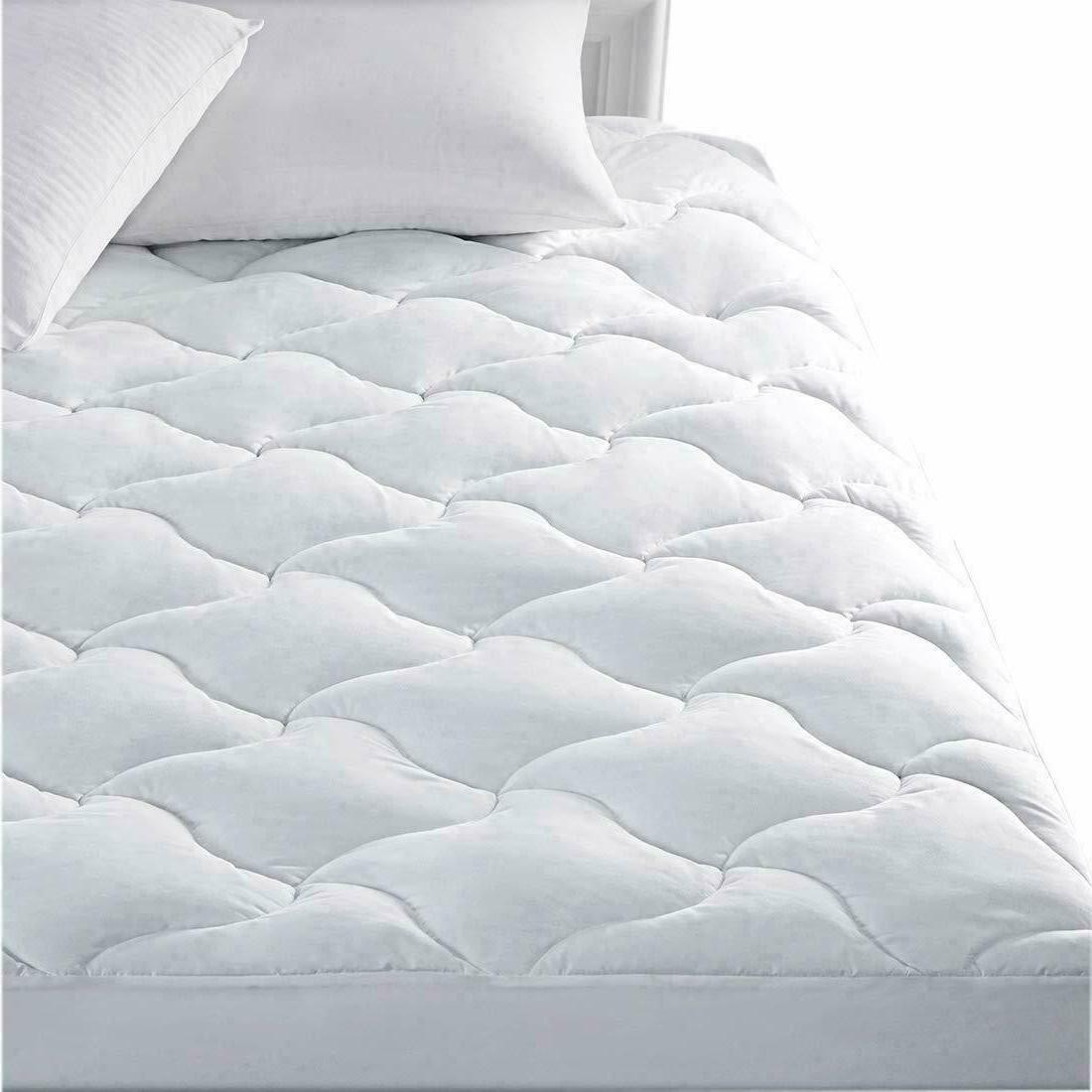 cal king size mattress pad cover pillow