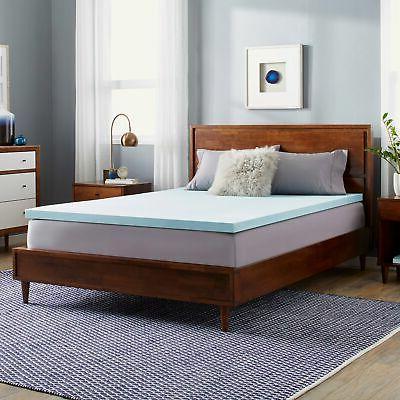 Slumber Solutions Choose Your Comfort 2-inch Gel Memory Foam
