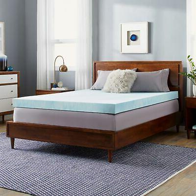 Slumber Solutions Choose Your Comfort 4-inch Gel Memory Foam