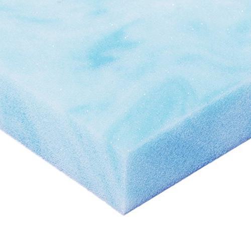Avana Comfort Gel Infused Cooling Memory Foam Mattress Topper