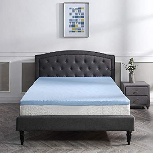 Classic 3-Inch Cloud Gel Mattress Free Cover,