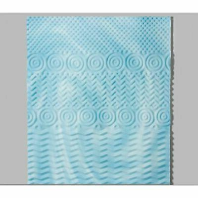 "Cool Mattress Zones Orthopedic Pad 3"" Queen"