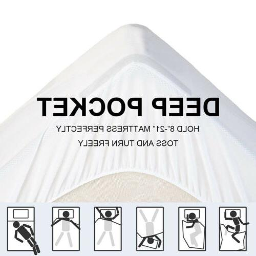 Fitted Mattress Pad Hypoallergenic