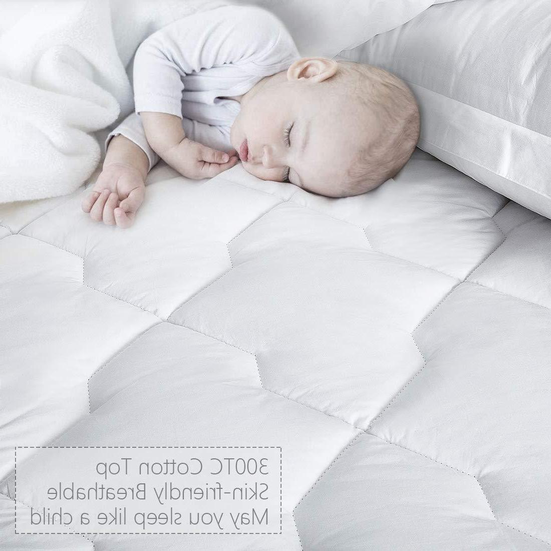 Cooling Cover Topper Sleeping Cotton Comfort
